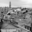 Portugal. Porto city in black and white — Stock Photo #28672317
