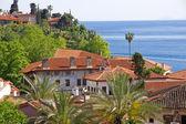 Turkey. Antalya town. View of harbor — Stock Photo