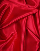 Red silk background — Stock Photo