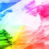 Background from iridescent splinters — Stock Photo