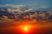 Majestic sunrise — Stock Photo