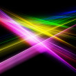 Bright color rays — Stock Photo