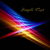 Sparkling fractal — Stock Photo
