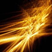 Fiery fractal — Stock Photo