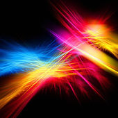 Bright color fractal — Stock Photo