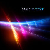 Bright fractal template — Stock Photo