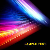 Colorful fractal template — Stock Photo