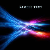 Bright fractal template — Foto Stock