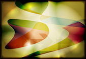 Background with colorful abstraction — Stock vektor