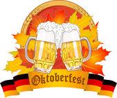 Oktoberfest design — Stock Vector