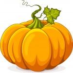 Autumn Pumpkin — Stock Vector #12652246