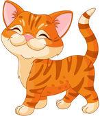 Lindo gatito — Vector de stock