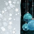 Christmas Balls background — Imagen vectorial