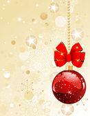 Noel süsleri — Stok Vektör