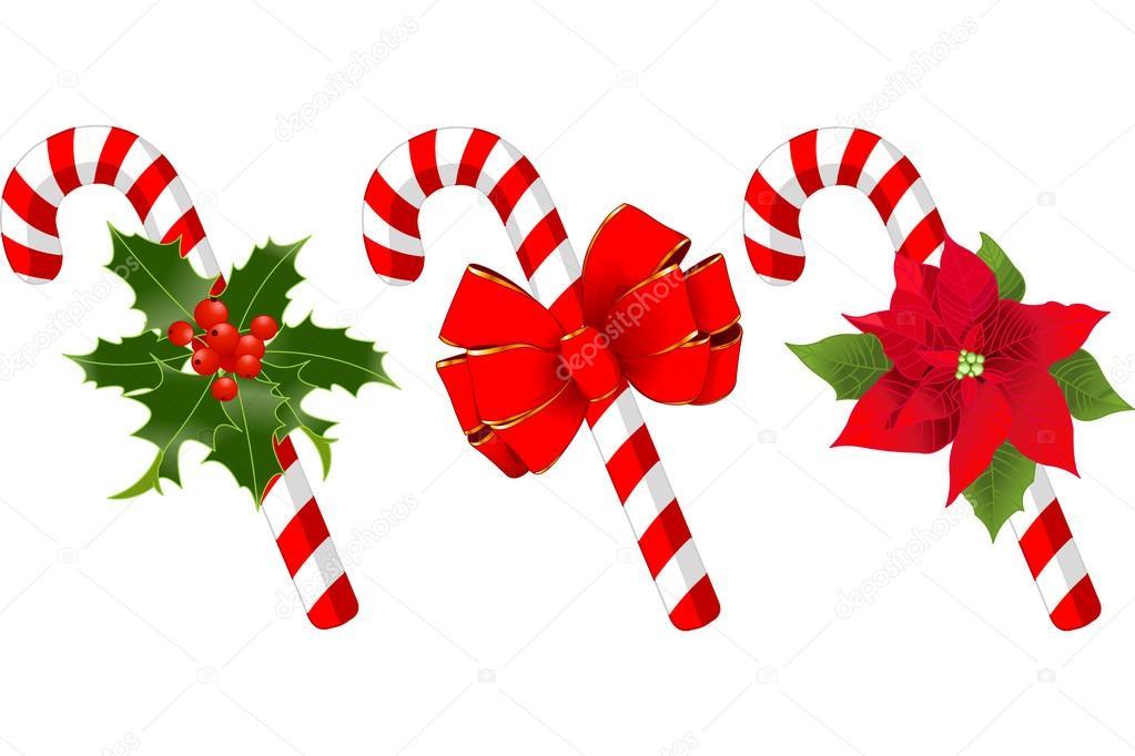 Bast n de caramelo de navidad decorado vector de stock - Caramelos de navidad ...