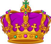 Mardi Gras crown — Stock Vector