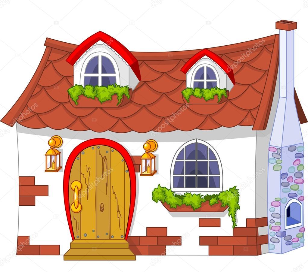 картинки дом нарисованный