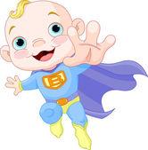 Super Baby Boy — Stock Vector