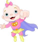 Super Baby Girl — Stock Vector