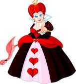 злой королевы сердец — Cтоковый вектор