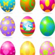 Easter eggs — Stock Vector #22249179