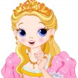 Beautiful princess — Stockvector #24026997