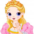 Beautiful princess — Wektor stockowy #24026997