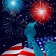 Freedom Celebration — Imagen vectorial