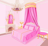 Princess bedroom — Stock Vector