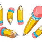 conjunto de lápis — Vetorial Stock  #27012891