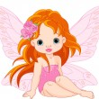 Little fairy — Stock Vector #28835799