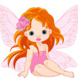 Stock Vector: Little fairy