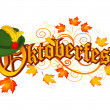 Oktoberfest celebration design — Stock Vector #29344293