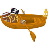 Rowboat — Stock Vector