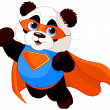 Stock Vector: Super Panda