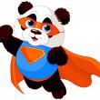 Super Panda — Stock Vector