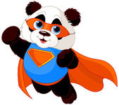 Super Panda — Stock Vector