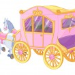 Stock Vector: Princess Carriage
