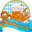 Oktoberfest Celebration design — Stock Vector #30925985