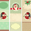 Christmas Banner Set  — Stock vektor