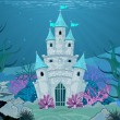 Mermaid Castle — Stockvector #35457681