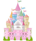 Fairy Tale Castle — Stock Vector