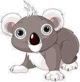 Söt koala — Stockvektor