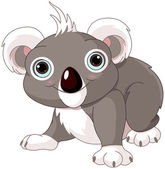 Cute koala — Stockvector