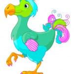 Dodo — Stock Vector