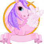 Unicorn sign — Stock Vector #40630795