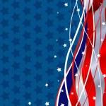 Patriotic Background — Stock Vector
