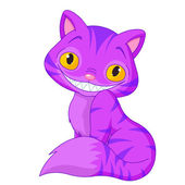 Cheshire cat — Stockvektor
