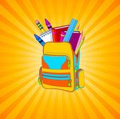 School supplies — Stock Vector
