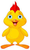 Yellow chick — Stock Vector